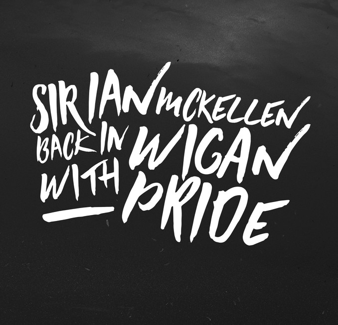 Sir Ian McKellen Back in Wigan With Pride