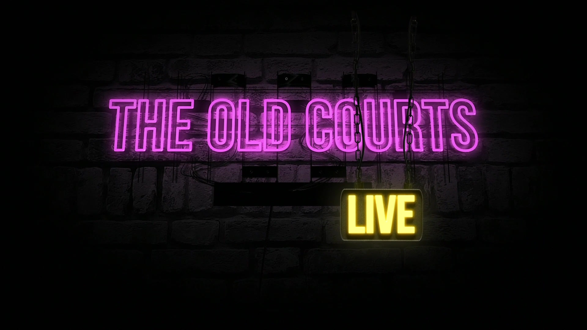 The Old Courts Live Intro