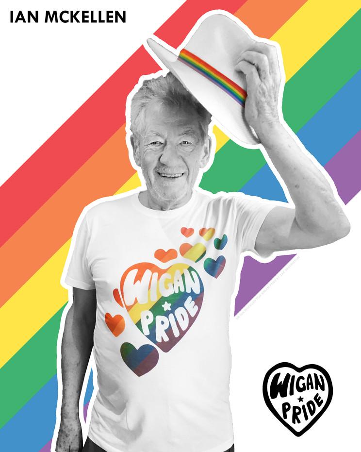 Ian McKellen (Unsigned Print)