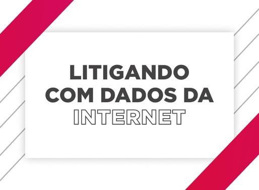 Litigando com Dados da Internet - Live
