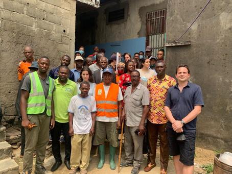 Recyclerie de déchets de drains à Douala : L'ESSACA en appui à La Fabrique Collective