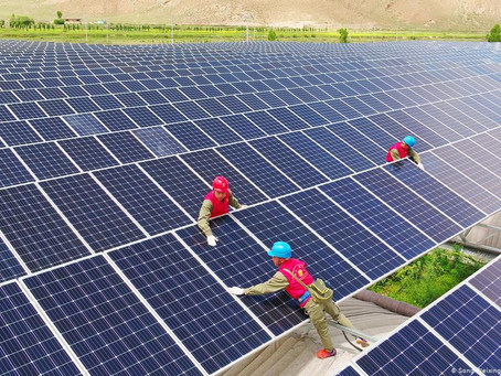 How many solar panels do we need to save the climate?
