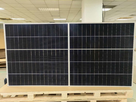 Good News - the upward power output trend for Solar Energy technology continues.