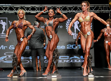 Miss Trained Figure - NABBA Universe 2019