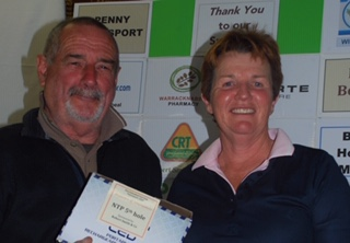 Tourny duration winner 5th hole Debbie B