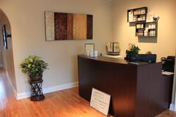 Islip Chiropractic Reception Area