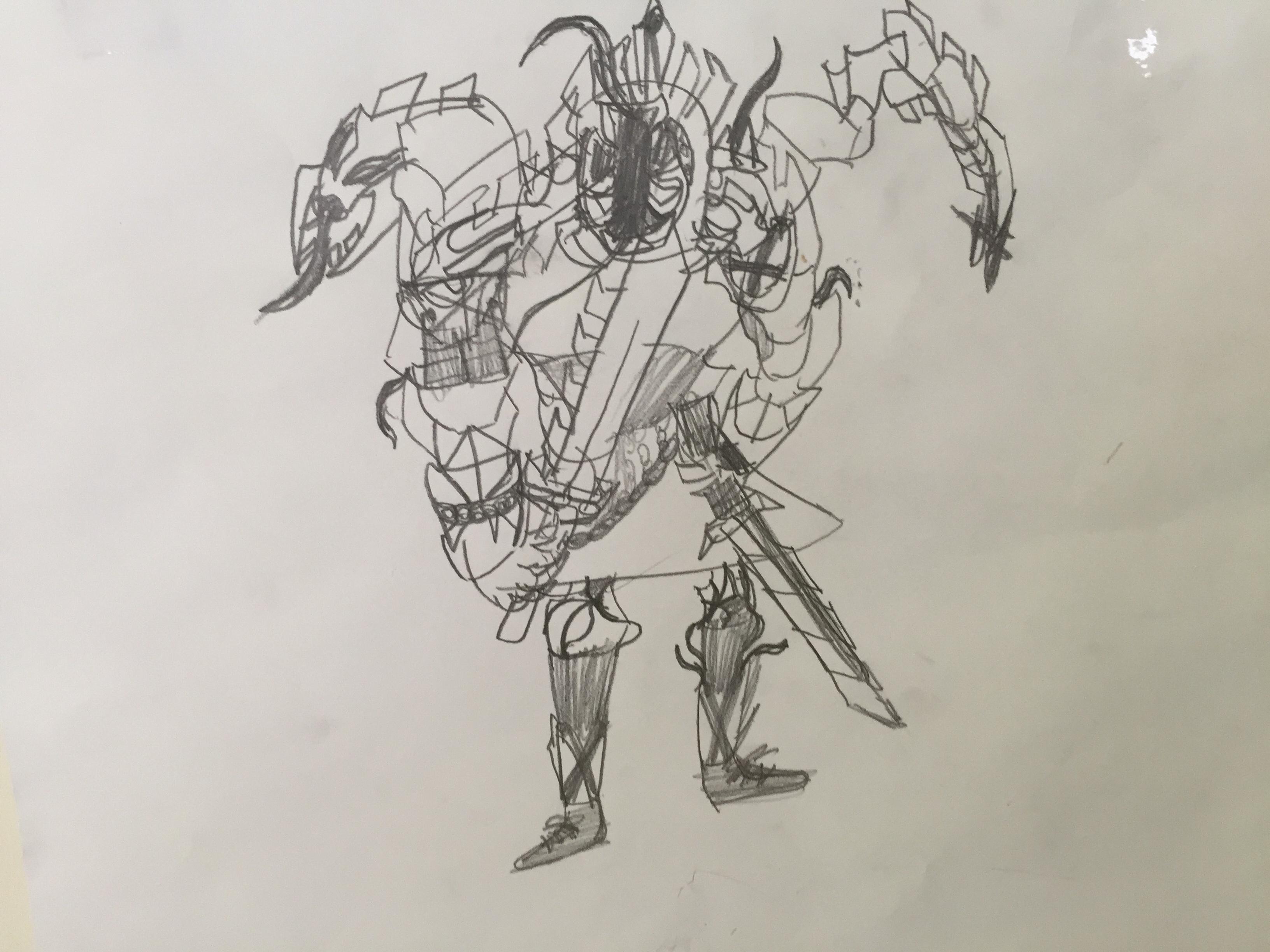 Gorl from Deltora Quest