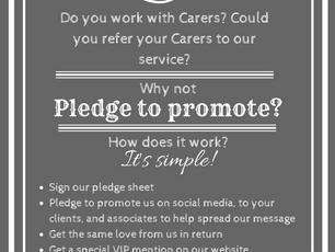 Pledge to Promote & get VIP status!