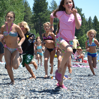 watergrom - beach run