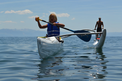 paddle camp - outrigger canoe