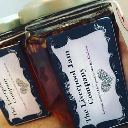 New Business name THE LIVERPOOL JAM COMPANY #madeinliverpool #jam #marmalade #chutney #curd #chutney