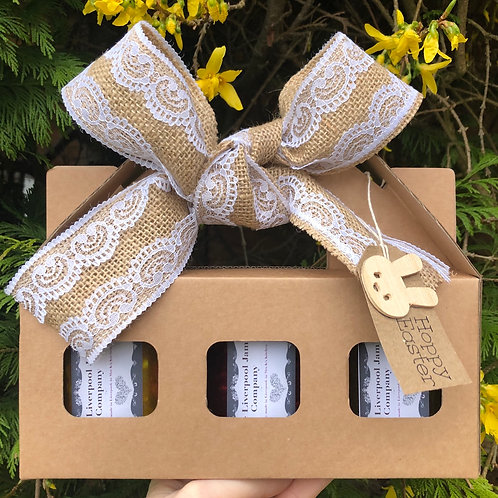 Easter Gift Box, Bow & Tag