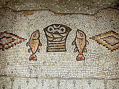 Tabgha-Fish and Loaves-mosaic