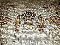 Tabgha-Fish and Loaves-mosaic