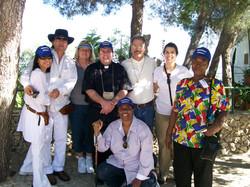 Pilgrims bonding!