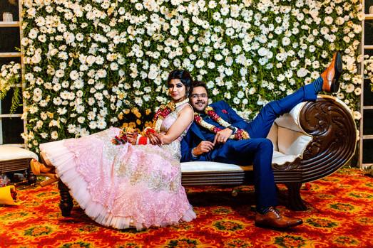 Sindhi bride groom funny pose at wedding