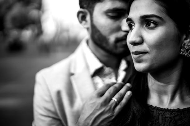 prewedding photo close up at mumbai