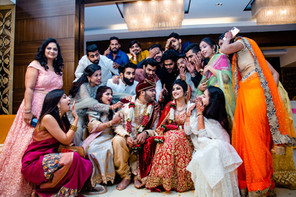 cousins at wedding candid photography sindhi