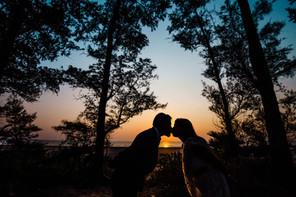 Romantic prewedding photo at Kelva beach