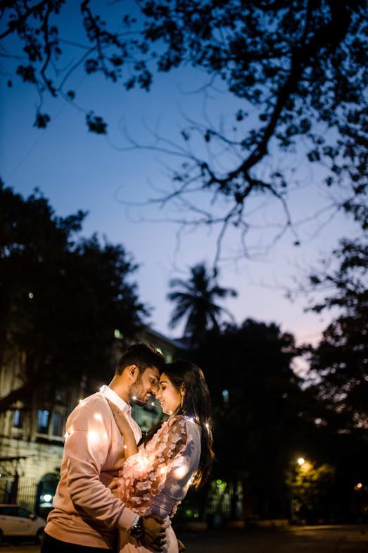 prewedding mumbai with led lights