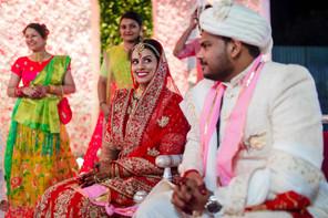 candid photography at marwadi wedding
