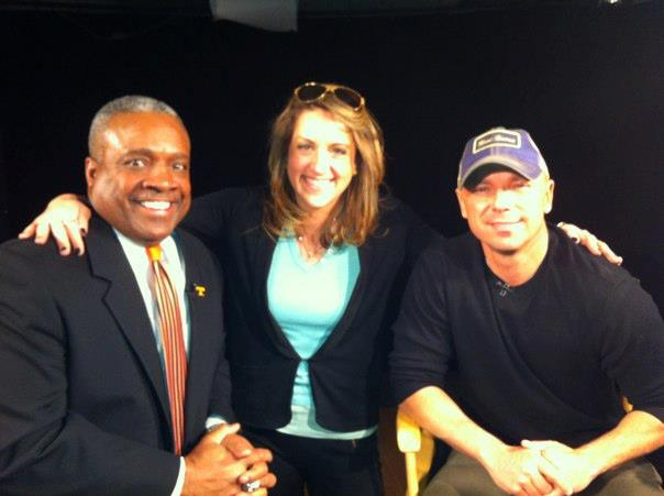 Filming with Kenny Chesney