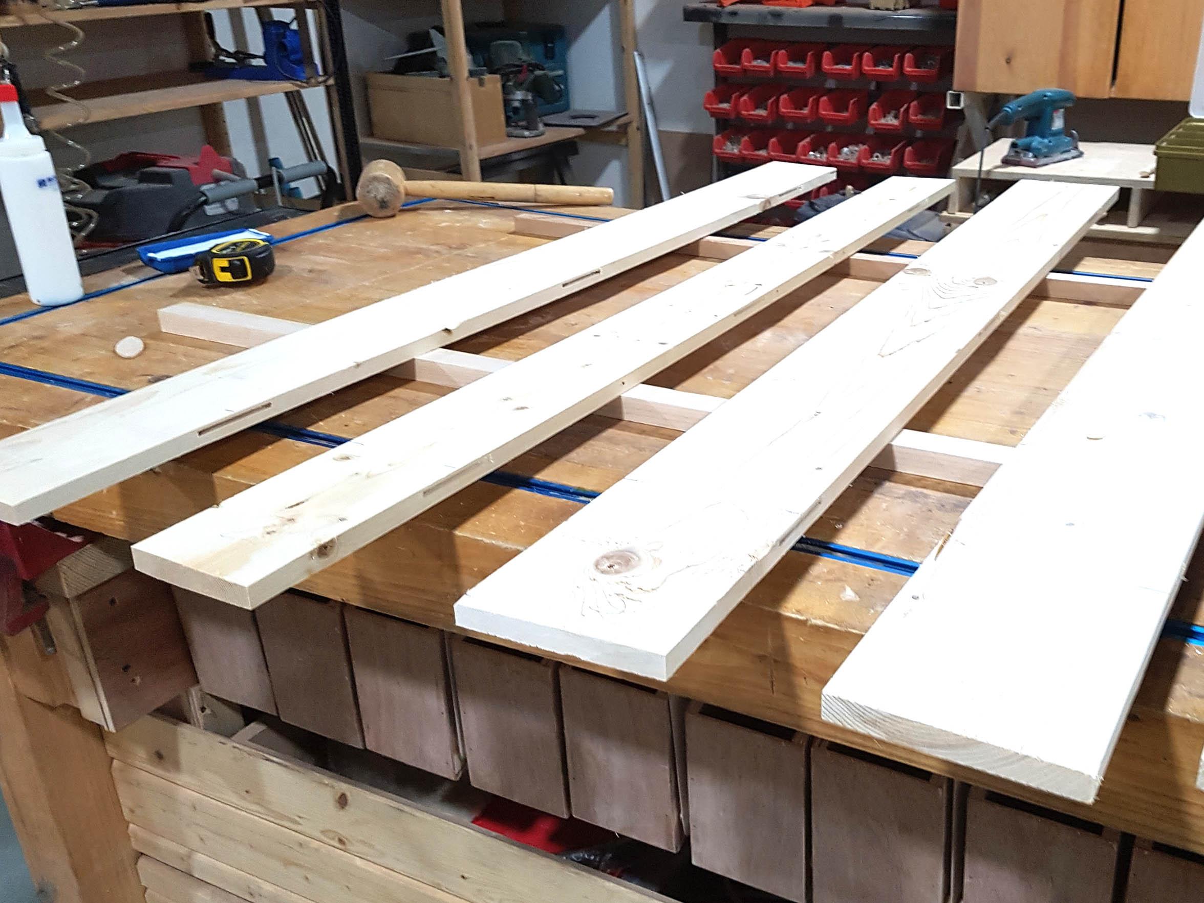 Prepare Planks