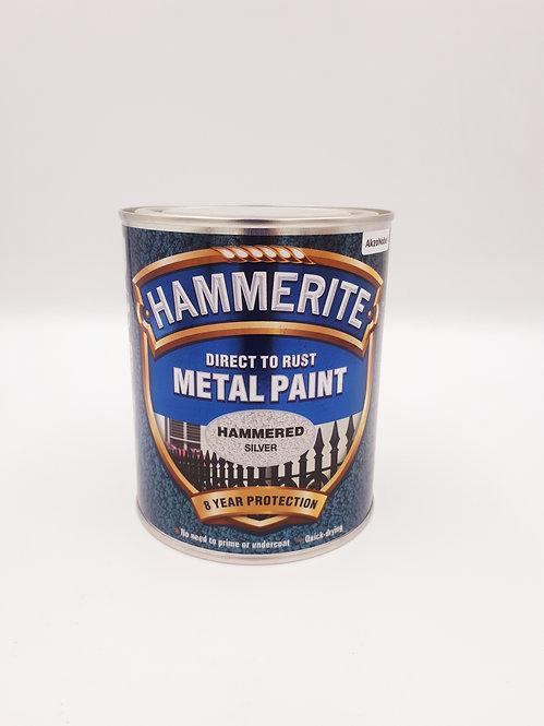 HAMMERITE METAL PAINT SILVER 750ML