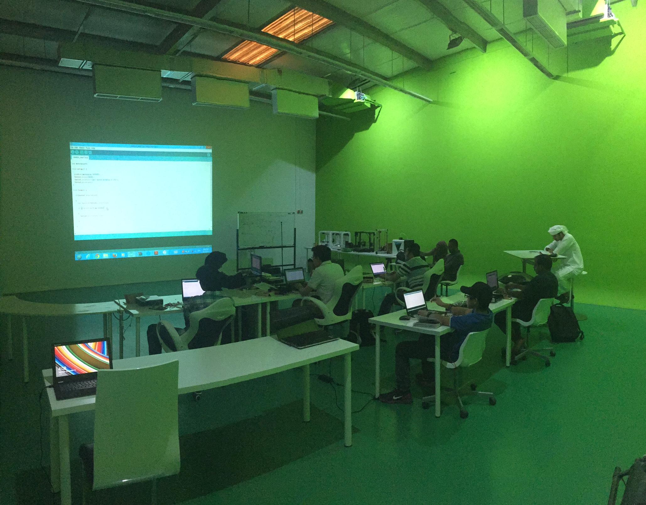Arduino Green Room Slider Photo 1