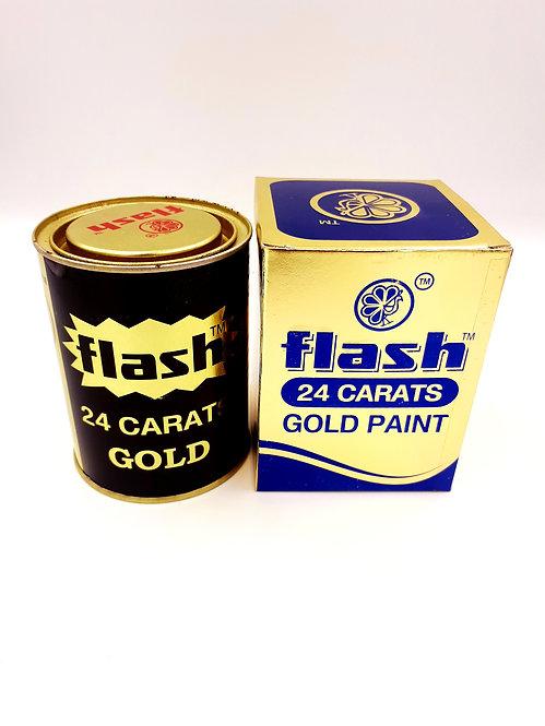 FLASH 24 CARAT GOLD PAINT-111