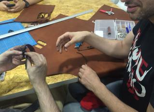 Laser Cut and Engraved Leather Bracelets