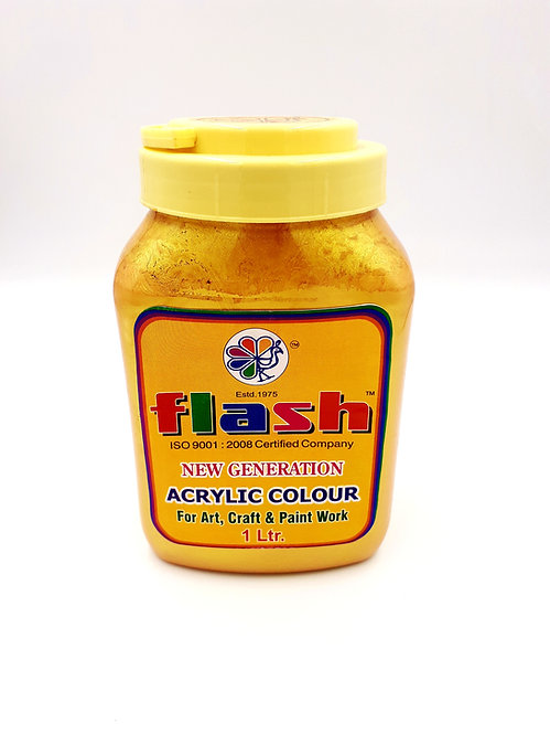 FLASH 24 CARAT ACRYLIC GOLD PAINT-106