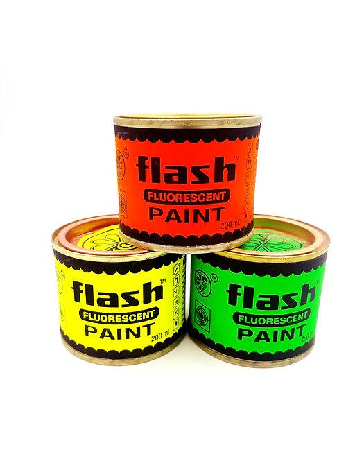 FLASH FLUORESCENT PAINT