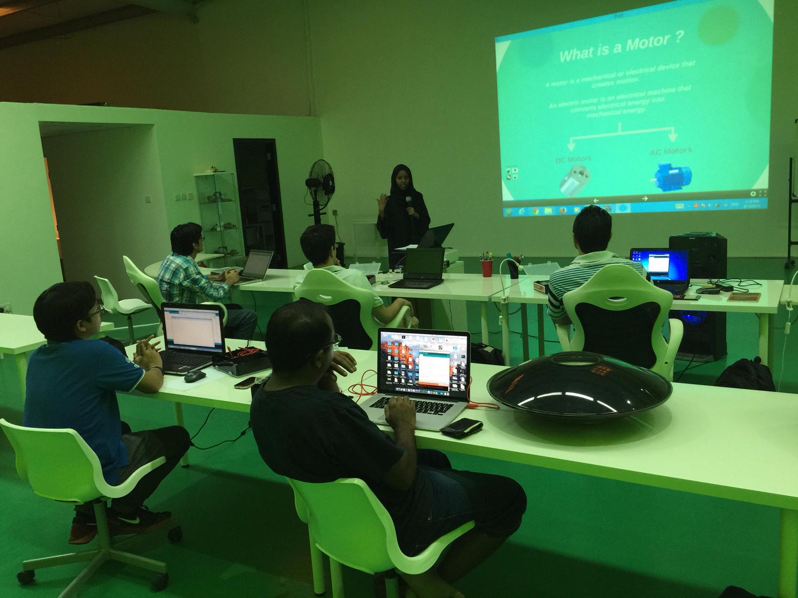 Arduino Workshop Green Room
