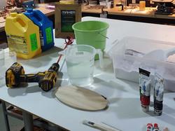 Prepare and Measure Materials