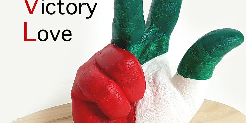 Win Victory Love Hand Life Casting - Third Slot