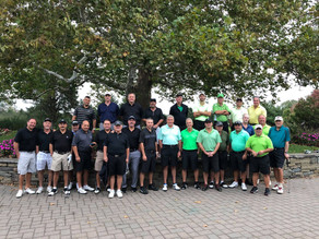 Knob Hill Golf Club's 2018 Ryder Cup Champions! Congratulations Team Mazzaroni on a comfortable