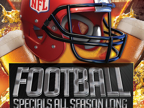 Football Specials All Season Long at the Sycamore Grille at Knob Hill Golf Club