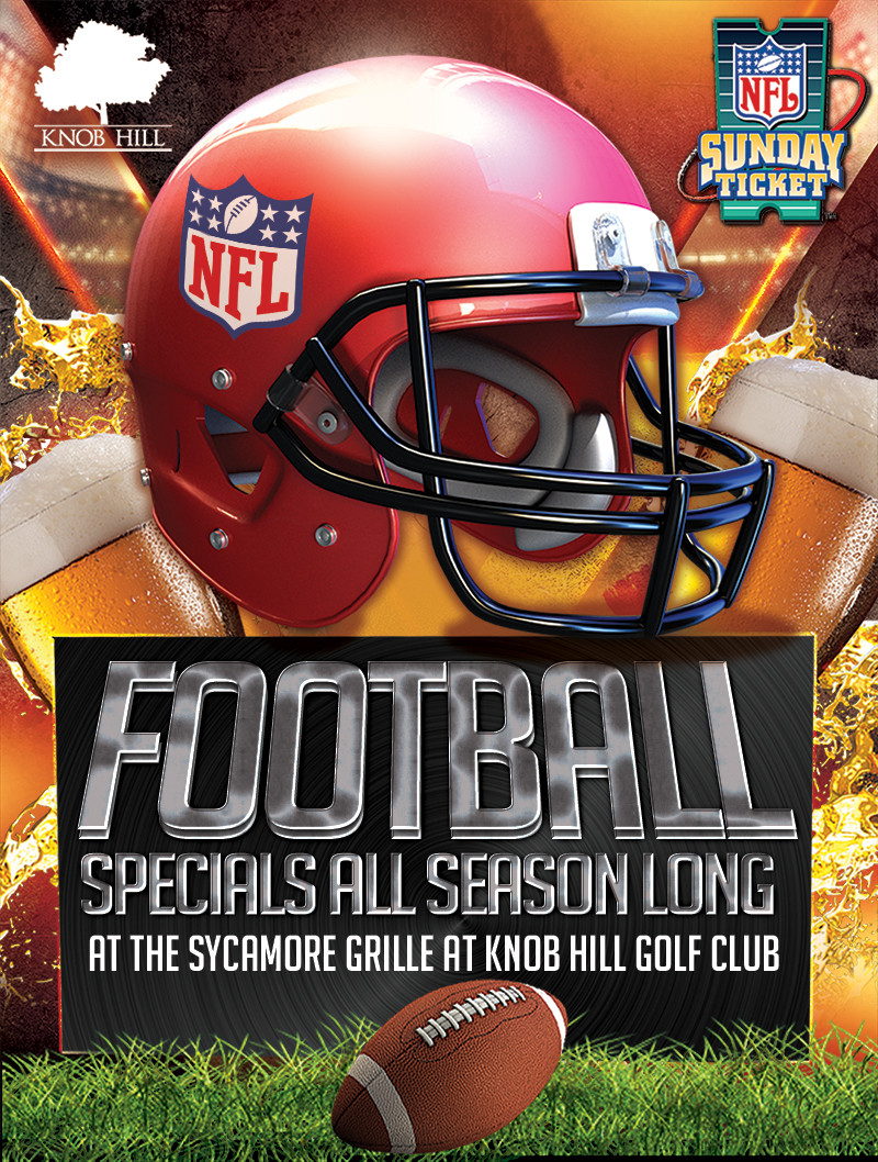 Specials at the Sycamore Grille for Football Season
