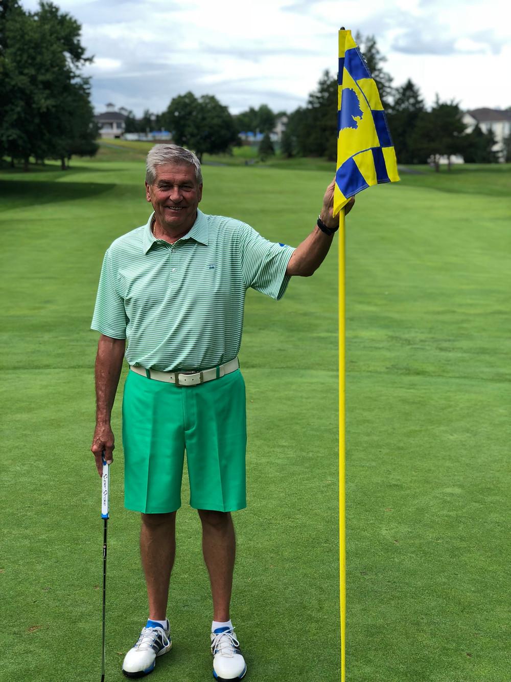 Bill Coe, Knob Hill Golf Club's First Flight Club Champion