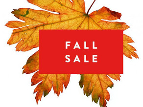 Fall Sale at Blue Hill Golf Course Pro Shop