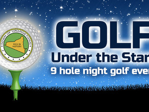 Saturday, September 29th - Golf Under the Stars