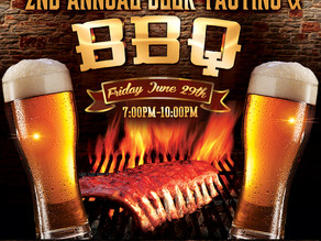 2nd Annual Beer Tasting & BBQ