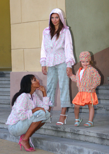 Photoshoot for the Fashion House Helena Elange 2006