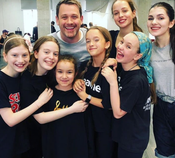 Working with American stage director Michael Arden (Broadway Dreams 2017)