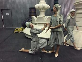 Backstage moments (Opera Aladdin- Stanislavski & Nemirovich Danchenko Theatre)