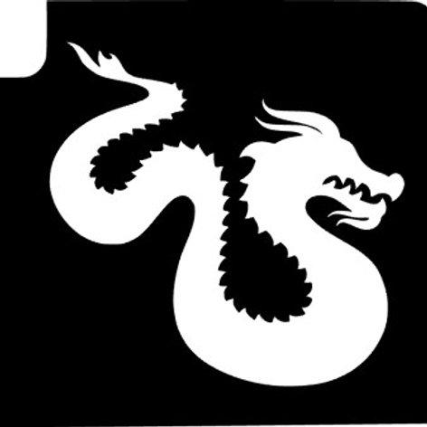 Pack 5 Stencils - Dragão