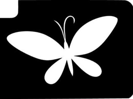 Pack 5 Stencils - borboleta