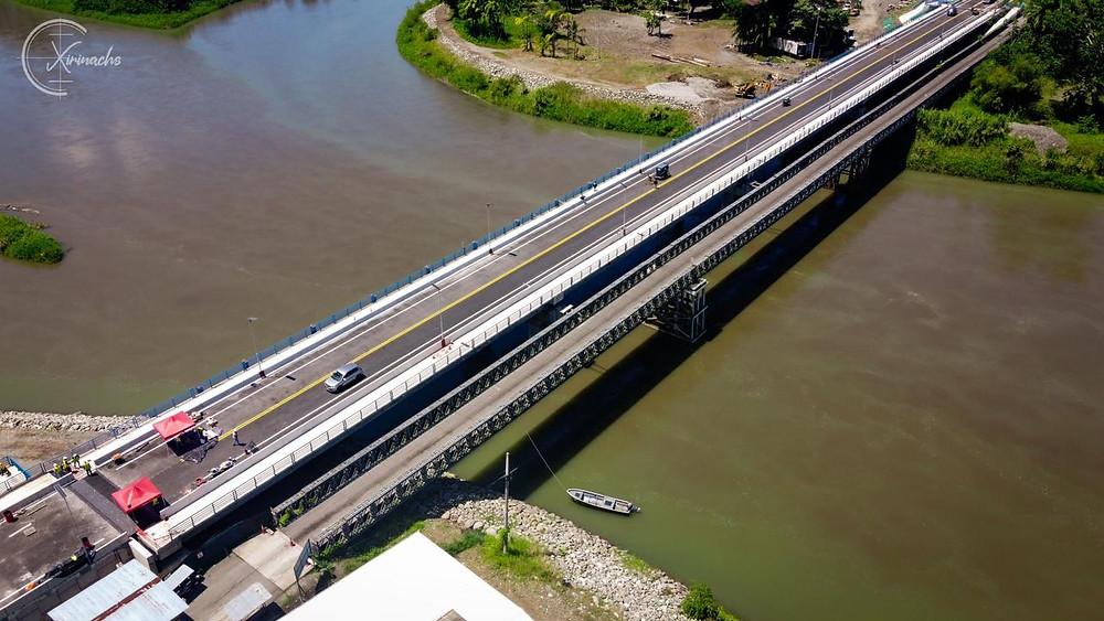 Nuevo puentes en el río Sixaola Costa Rica - Panamá