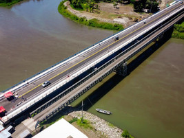 Inaugurado nuevo puente binacional sobre Río Sixaola